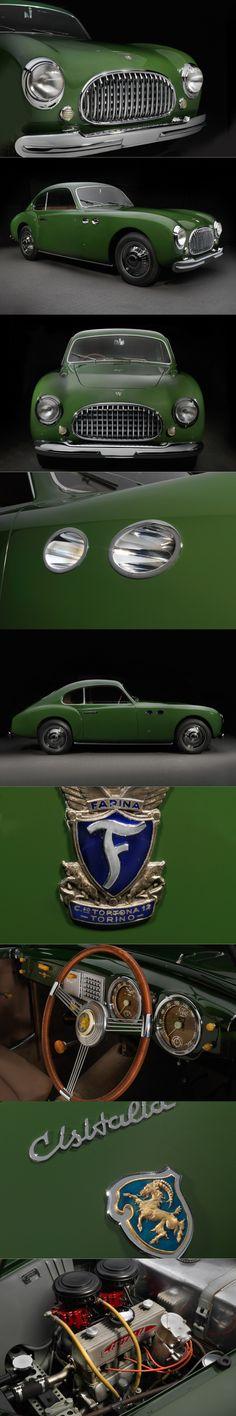 1950 Cisitalia 202 / s/n 131 SC / Italy / green / 60hp 1.1l L4 / 17-374