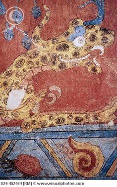 Murals in Cacaxtla
