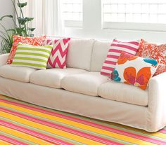 Dash & Albert... the cutest, most colorful rugs!! Lots of indoor / outdoor (need one for my side porch!!).