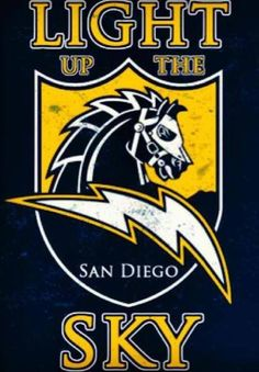 San Diego Chargers Alternate Logo on Chris Creamer's Sports Logos Page - SportsLogos. A virtual museum of sports logos, uniforms and historical items. Chargers Nfl, San Diego Chargers, Lightning Logo, Lightning Strikes, Football Crafts, Baltimore Colts, Sports Team Logos, Sports Teams, Nfl Logo