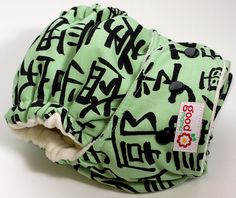 Kanji One-Size Fitted Diaper
