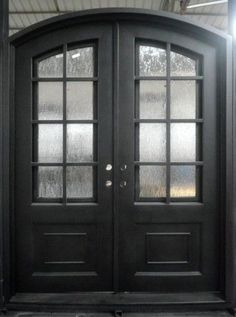 """Hand Crafted 72"""" x 96"""" Wrought Iron Entry Doors $3 845 All in 12 Gauge Iron 