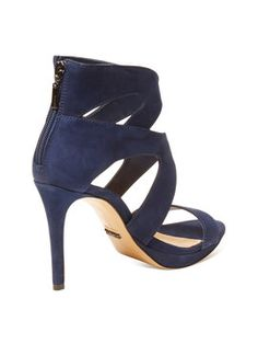 Hazel Nubuck Sandal from Date Night Shoes on Gilt
