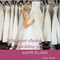 Mary's Bridal: Win A Wedding gown Of Your Choice!