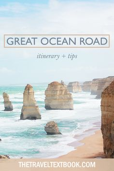 Don't miss Australia's best road trip (and travel destination). Itinerary and tips for driving Victoria's Great Ocean Road. Australia | Australian Road Trip | Victoria | Melbourne | Great Ocean Road | Road Trip Australia | Travel Blog #Australia #GreatOceanRoad #Victoria