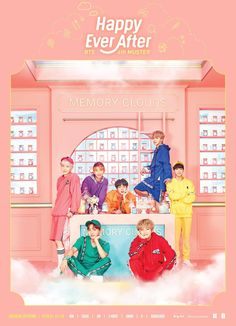 BTS 4TH MUSTER [Happy Ever After] 메인 포스터  #방탄소년단 #BTS #4THMUSTER