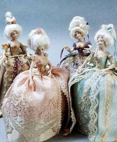 Art dolls by - Stephanie Blythe