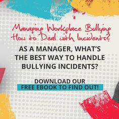 As a manager, what's the best way to handle bullying incidents? Get tips for handling workplace bullying and find out which appropriate action to take as a manager. Download our FREE eBook now! #bullyology #thebullyologist #jessicahickman #endbullyingnow #stopbullying #becomeupstanders Stop Bullying, Anti Bullying, Workplace Bullying, Healthy Relationships, Free Ebooks, How To Find Out, Management, Good Things