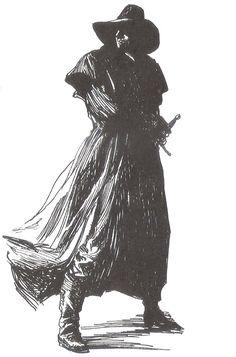 Solomon Kane by Gary Gianni.