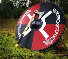 Customizable Viking shield | Etsy