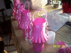 simple paper lanterns look beautiful for a girlie birthday party