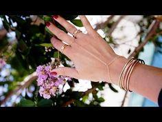 DIY gold handpiece bracelet-ring