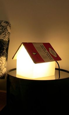 If your book lover is constantly misplacing his or her bookmark and losing their place while reading, this book rest lamp is the perfect gift