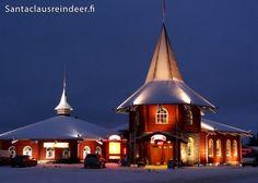 Santa Claus Holiday Village in Rovaniemi in Lapland Finland