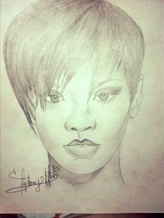 Drawing Rihana