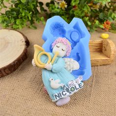 Nicole F1159 FDA Cute Angel Gumpaste Sugar Fondant Cake Decoration Molds Silicone Resin,Clay Crafts Mould Jelly Pudding Tools on Aliexpress.com | Alibaba Group