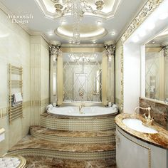 Antonovich Design Luxury | looks royal and luxury this luxury is emphasized with mirror beveled ...