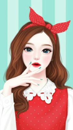 ImageFind images and videos about girl, art and Enakei on We Heart It - the app to get lost in what you love. Anime Korea, Korean Anime, Korean Art, Korean Illustration, Illustration Girl, Cute Girl Drawing, Cute Drawings, Oriental, Girl Cartoon