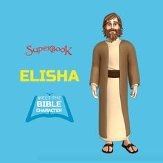 "Who was Elisha?  Elisha was one of the most powerful prophets in the Old Testament. He was originally Elijah's disciple, but he later became a leader of the sons of the prophets. His name means, ""My God is salvation.""  ""And Elisha replied (to Elijah), 'Please let me inherit a double share of your spirit and become your successor.'"" 2 Kings 2:9 2 Kings 2, Bible For Kids, Old Testament, Online Games, Free Website, Games For Kids, Sunday School, Scriptures, Homeschooling"