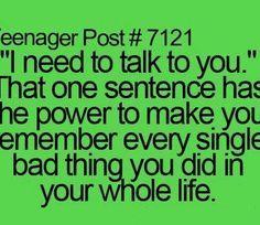 teenage post funny | funny, so true, teenage post