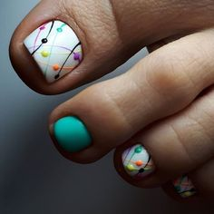 nail art designs for spring / nail art designs ; nail art designs for spring ; nail art designs for winter ; nail art designs with glitter ; nail art designs with rhinestones Nail Design Glitter, Nail Design Spring, Spring Nail Art, Spring Nails, Nails Design, Pedicure Designs, Pedicure Nail Art, Toe Nail Designs, Manicure
