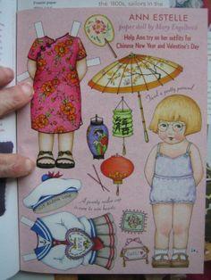 MARY ENGELBREIT'S Home Companion ~ FEB/MARCH, 2003 ~ ANN ESTELLE Paper Doll