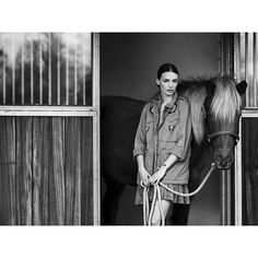 Meet the J.Crew Muse Who Doubles as a Horse Breeder // Style.com