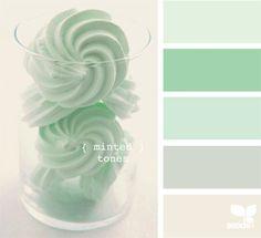 Interieur inspiratie   Mintgroen in de keuken - Stijlvol Styling www.stijlvolstyling.com