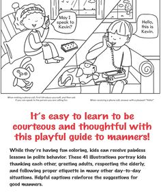 Mind Your Manners!: A Kid's Guide to Proper Etiquette Dover Publications