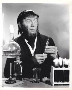Bela Lugosi as Dr. Brewster, The Ape Man (1943)