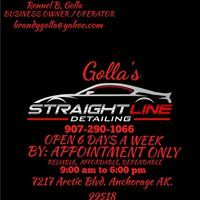 Golla's Straight Line Auto detail in Anchorage Ak Alaska Straight Lines, Car Detailing, Alaska, The Help, Reading, Business, Check, Word Reading, Store