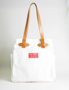 tote bianca Filson red label