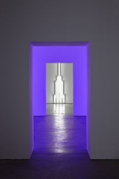 Dan Flavin, It is what it is and it ain't nothing else. Installation view, Ikon Gallery (2016). Photo by Stuart Whipps, courtesy of Ikon. © 2016 Stephen Flavin/Artists Rights Society (ARS), New York.