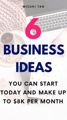 Don't wait any longer! Start your profitable online business today! Check out these epic 6 business ideas that you don't need money to start, no experience just your desire to help people and make money online! 6 Business Ideas You Can Start Today You Shouldn't miss #business #onlinebusiness #businessideas #ideas #makemoneyonline