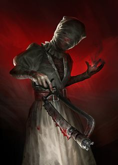 ArtStation - Nurse. Dead by Daylight fanart, Natalie Lesiv