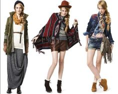 Country Cool Fashion - The Zara Casual Fall 2010 Collection Wants a Romp in the Hay (GALLERY)