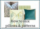 A Delightful Design: how to mix pillows and patterns