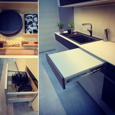 Clever solutions from ukitch.eu Ping Pong Table, Design Kitchen, Clever, Furniture, Home Decor, Self, Cuisine Design, Room Decor, Home Interior Design