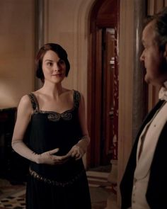 Lady Mary and lord Grantham