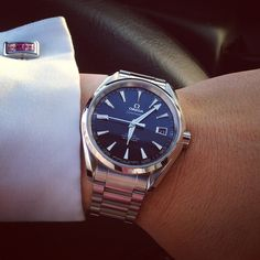 The Omega Watch - Timeless Style For Generations - TymeLord Amazing Watches, Cool Watches, Rolex Watches, Stylish Watches, Luxury Watches For Men, Omega Aqua Terra, Seamaster Aqua Terra, Dream Watches, Omega Seamaster