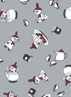 Finlayson Pikku Myy Oilcloth fabric | Pikku Myy -kernivahakangas