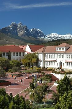 University of Stellenbosch Campus, Western Cape, South Africa Namibia, Cape Town South Africa, Out Of Africa, Africa Travel, Beautiful Places, Places To Visit, Around The Worlds, Campus University, College Campus
