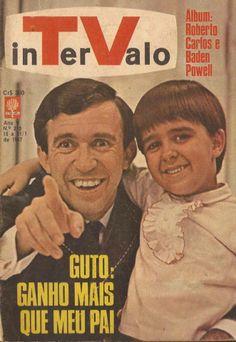 REVISTA INTERVALO de Janeiro de 1967 - destaca o sucesso do pequeno GUTO - filho de MOACYR FRANCO