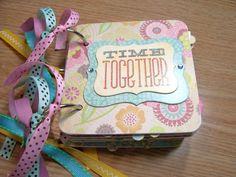 Time Together Mini Album Chipboard Scrapbook CIJ by HampshireRose, $14.99