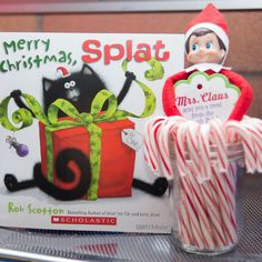 Are you looking for Elf on the Shelf Classroom Ideas. You must see Scout Elves at Play set. It has lots of props to make your elf season more fun in school. Christmas Elf, Christmas Themes, Christmas Crafts, Christmas Books, Holiday Ideas, Elf On The Self, The Elf, Elves At Play, Book Design Inspiration