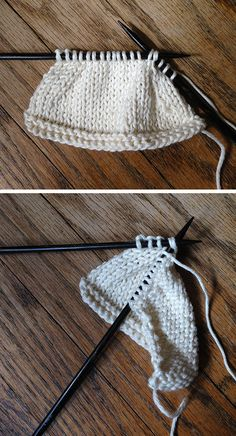 Right- vs Left-leaning stitches
