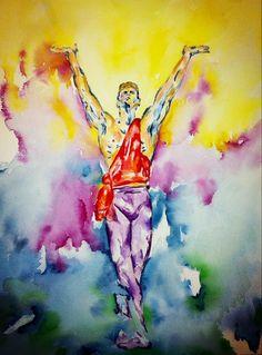 Watercolor Dancer Print Ballet Prints Dancer by AngelicbyJones, $18.00