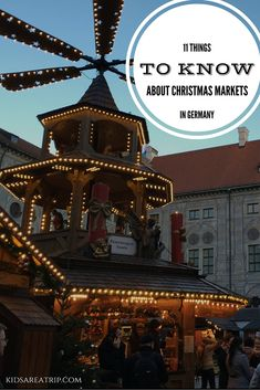 11 Things You Need to Know Before Visiting Germany's Christmas Markets - Traveling Mom