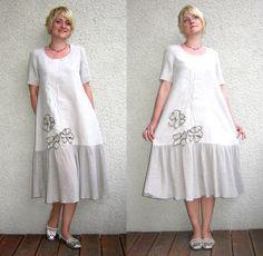Eco friendly  linen dress by rubuartele on Etsy, $68.00