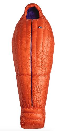 From Patagonia: VENTURA, California – Patagonia's new 850 Down Sleeping Bag is inspired by the bag Patagonia founder Yvon Chouinard built for himself 45 years ago—a simple mummy-style bag with over…